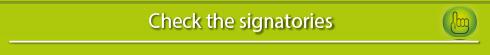 Signatories list